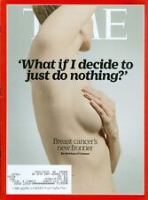 2015 Time Magazine: Breat Cancer 's New Frontier - What If I Do Nothing?