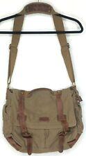 Koolertron Unisex Men Womens Canvas and Leather Shoulder Bag/Messenger Bag EUC