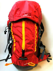 Black Crevice Rucksack Centennial 60 Liter rot Wander Trekking Touren  Backbag