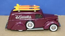 Durham 1:43 White Metal 1939 Ford panel Delivery Sahara Hotel w Surfboards 1993