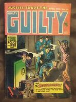 JUSTICE TRAPS THE GUILTY #61, 1954, 7.0 rating