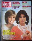 PARIS MATCH 1982 LADY DIANA & CAROLINE DE MONACO MANIFESTATION POLOGNE VARSOVIE