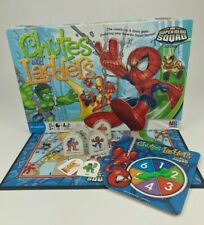 Chutes and Ladders Marvel Superhero Squad Edition Game Replacement Parts Pieces