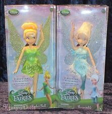 Disney Classic Dolls The Pirate Fairy Tinker Bell And Periwinkle Doll Set NEW!