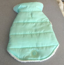 WAGBY brand Mint Green DOG COAT winter wear size medium Fleece Lining cute @@