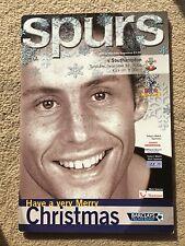 Tottenham Hotspur v Southampton-Barclays Premiership 2004/05 programa