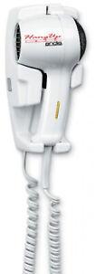 Andis 33495 1600Watt Wall Mounted HangUp Hair Dryer with Night Light White
