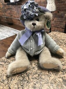 Bearington Collection Rare Toby Teddy Bear Of Year 2003 Paige Retired 2004 #1428