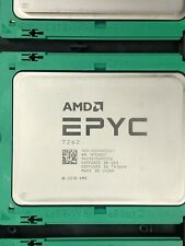 AMD 2nd Gen EPYC 7262 Rome 8 Core 3.2GHz 64C Socket SP3 7nm 155W Server CPU