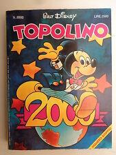 TOPOLINO n° 2000 STATO PIU' CHE OTTIMO