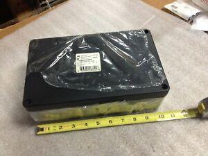 Hammond 1590Z162BK Die Cast Enclosure Black Includes Hardware