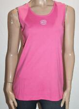 Millers Brand Pink Embroidered Flower Singlet Tank Top Size S BNWT #SC108