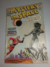MYSTERY IN SPACE #78 1962 ADAM STRANGE 1st Series DC Comics GD+ 2.5 Silver Age