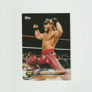 2018 wwe Legend HBK Shawn Michaels Topps card# 198 at Good old smokejoe13 ......