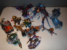 TRANSFORMERS LOT OF INCOMPLETE FIGURES BEAST WARS MORE