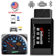 ELM327 Bluetooth OBD2 Code Reader Car Engine Diagnostic Tool Automotive Scanner