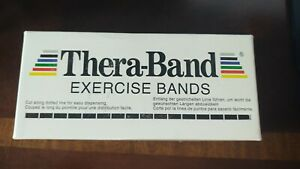 TheraBand Latex Exercise Bands Special Heavy Black 6 yds