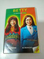 BETTY LA FEA UGLY BETTY TEMPORADA Final - 5 DVD Español Ingles