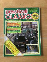 Practical Classics Magazine December 1982 (162) Minor Traveller VW Beetle