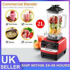 More details for multi commercial blender 2l food processor mixer smoothie juicer ice crusher new