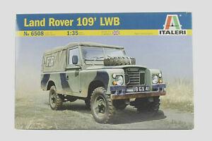 ITALERI 1:35 KIT AUTO MILITARE LAND ROVER 109 LWB LUNGHEZZA 12,5 CM     ART 6508