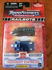 Transformers Universe RAILBOTS MIDNIGHT EXPRESS SERIES 3  4 OF 6 RARE NOC
