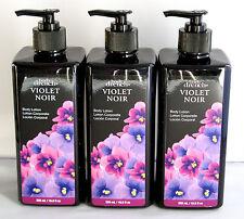 3 X Body Drench Violet Noir Body Lotion Set 16.9 oz each