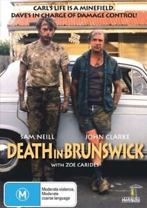 Death In Brunswick (DVD) Sam Neill. John Clarke.  NEW/SEALED