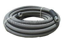 "Gray Non- Marking Pressure Washer Hose 3/8"" x 50' 4000PSI"