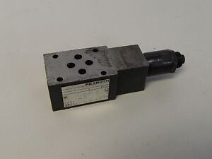 Rexroth Hydraulic Pressure Reducing Valve, ZDB 6 VP2-40/100V, Used, Warranty