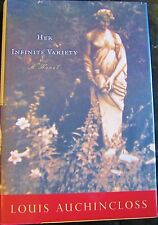 FIRST EDITION Her Infinite Variety by Louis Auchincloss (2000, Hardcover)