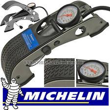2017 Michelin 12200 Single Barrel Car Bicycle Cycle Bike Tyre Inflator Foot Pump