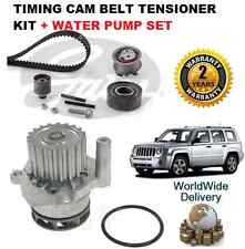 Per JEEP PATRIOT 2.0 DT 2007 - & GT Timing Cam Belt KIT TENSIONATORE + POMPA ACQUA impostata