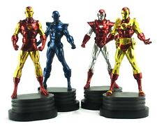 BOWEN DESIGNS THE INVINCIBLE IRON MAN 4 PACK STATUE SET MARVEL Sideshow Bust