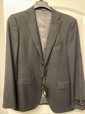 New $595 JOHN VARVATOS Signature Tailored 38 R MERCER suit Coat Black New