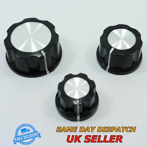 Bakelite Sound Control Rotary Switch Knob 6mm for Potentiometer Volume