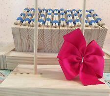 Wooden hair bow board. Makes 2-6 inch pinwheel hairbows