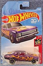 2018 Hot Wheels #32 HW Flames 3/10 '68 CHEVY NOVA Purple w/Black St8 sp wheels