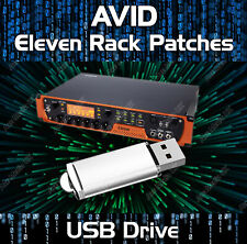 AVID ELEVEN RACK PATCH LIBRARY GUITAR EFFECTS RIG TONES &  PRESETS USB