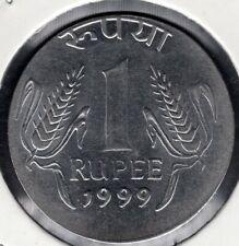 INDIA Re.1/- COIN STRUCK ON 50 PAISA COIN,WRONG PLACHET ERROR
