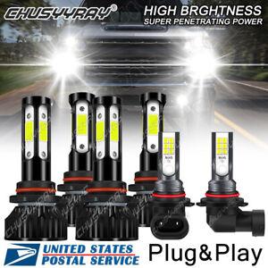For Chevy Silverado 1500 2500 3500 2003-2006 - Front LED Headlight Fog Light SJ