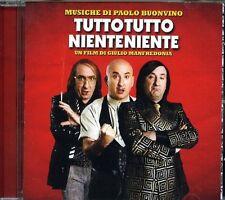 TUTTO TUTTO NIENTE NIENTE - COLONNA SONORA (PAOLO BUONVINO) - CD NUOVO SIGILLATO