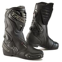 TCX S-Speed Waterproof Gore-Tex Sport Touring Motorcycle Boots Black - NEW