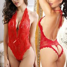 Women Underwear Bra Sexy Lingerie G-string Nightwear Lace Dress Clothes Set Hot