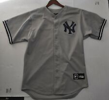 Rare Vtg New York Yankees #26 Hernandez Majestic Gray Road Authentic Jersey M