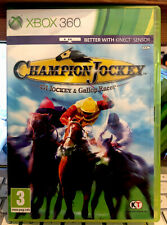Champion Jockey Xbox 360 Kinect. With Manual, Cleaned Tested, Oz 🇦🇺Seller