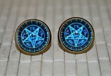 Black Butler Kuroshitsuji Anime Ciel Phantomhive Contract Seal Stud Earrings