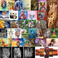 5D DIY Full Drill Diamond Painting Deer Cross Stitch Embroidery Mosaic Kit Decor