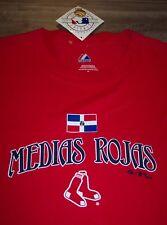 BOSTON RED SOX MLB BASEBALL MEDIAS ROJAS T-Shirt XL NEW w/ TAG