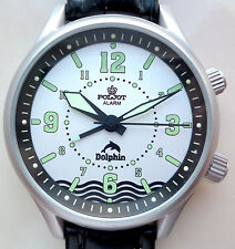 Russian WATCH POLJOT ALARM DOLPHIN Diving , paper and original box !